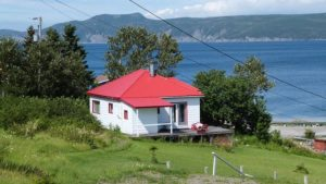 Woody Point at Gros More National Park in Newfoundland