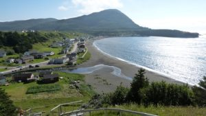 Village Bay in Gros More National Park in Newfoundland