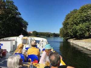 Boat Trip Down one of the Berlin Canals