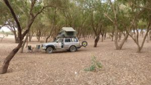 Landcruiser in Morocco