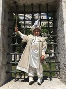 8yo Celebrating his Pending Circumcision