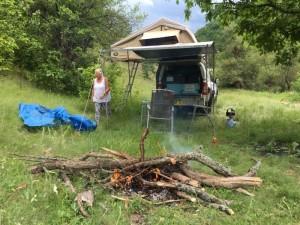 Camping in Bulgaia